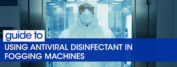 Using Antiviral Disinfectant fogging machines