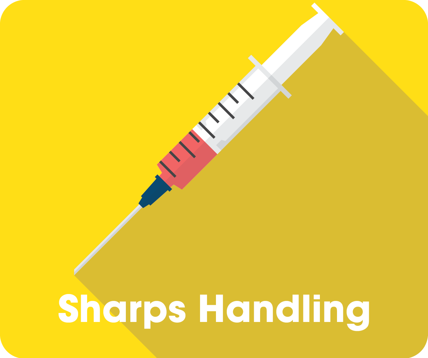 Sharps Guide Button